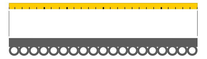 come misurare larghezza di una riloga per tende