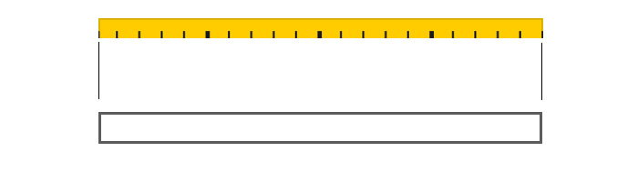 calcolare misura tenda a pannello per velcro